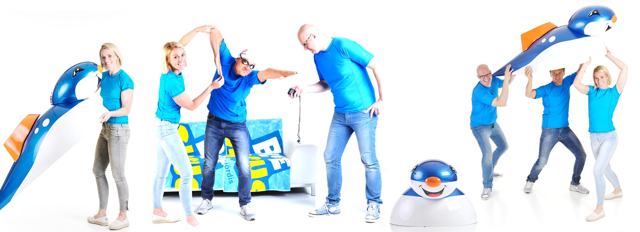 Das Blue-Circus-Team
