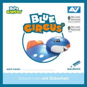 Malbuch Blue Circus